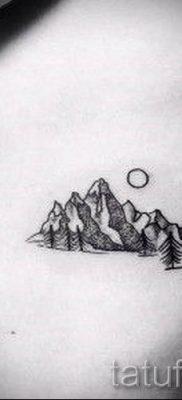 Фото тату горы – для статьи про значение татуировки с рисунком гор – tatufoto.ru – 4
