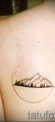 Фото тату горы – для статьи про значение татуировки с рисунком гор – tatufoto.ru – 6