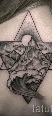 Фото тату горы – для статьи про значение татуировки с рисунком гор – tatufoto.ru – 8