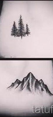 Фото тату горы – для статьи про значение татуировки с рисунком гор – tatufoto.ru – 9