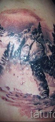 Фото тату горы – для статьи про значение татуировки с рисунком гор – tatufoto.ru – 12