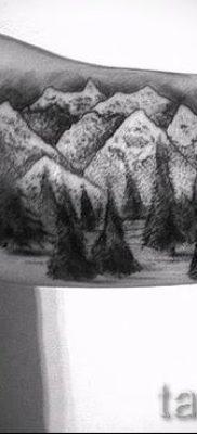 Фото тату горы – для статьи про значение татуировки с рисунком гор – tatufoto.ru – 13