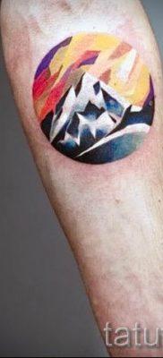 Фото тату горы – для статьи про значение татуировки с рисунком гор – tatufoto.ru – 16