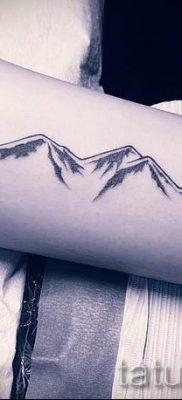 Фото тату горы – для статьи про значение татуировки с рисунком гор – tatufoto.ru – 18
