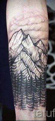 Фото тату горы – для статьи про значение татуировки с рисунком гор – tatufoto.ru – 19