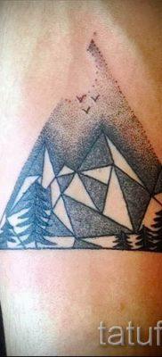 Фото тату горы – для статьи про значение татуировки с рисунком гор – tatufoto.ru – 22