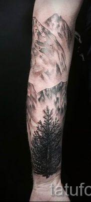 Фото тату горы – для статьи про значение татуировки с рисунком гор – tatufoto.ru – 25