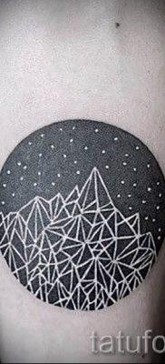 Фото тату горы – для статьи про значение татуировки с рисунком гор – tatufoto.ru – 26