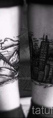 Фото тату горы – для статьи про значение татуировки с рисунком гор – tatufoto.ru – 27