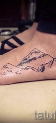 Фото тату горы – для статьи про значение татуировки с рисунком гор – tatufoto.ru – 30