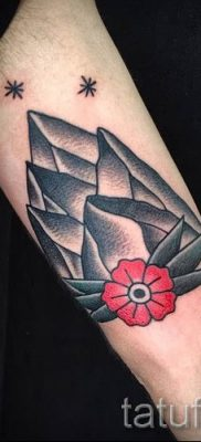 Фото тату горы – для статьи про значение татуировки с рисунком гор – tatufoto.ru – 42