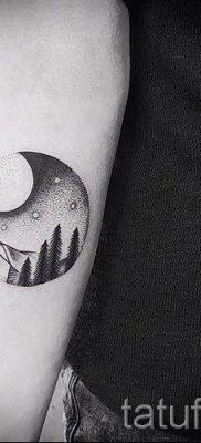 Фото тату горы – для статьи про значение татуировки с рисунком гор – tatufoto.ru – 45