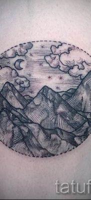 Фото тату горы – для статьи про значение татуировки с рисунком гор – tatufoto.ru – 49