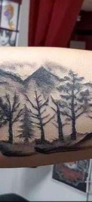 Фото тату горы – для статьи про значение татуировки с рисунком гор – tatufoto.ru – 57