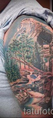 Фото тату горы – для статьи про значение татуировки с рисунком гор – tatufoto.ru – 58