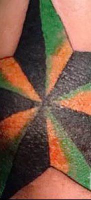 Фото тату звезды на локтях для статьи про значение рисунка татуировки – tatufoto.ru – 25