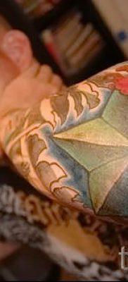 Фото тату звезды на локтях для статьи про значение рисунка татуировки – tatufoto.ru – 27
