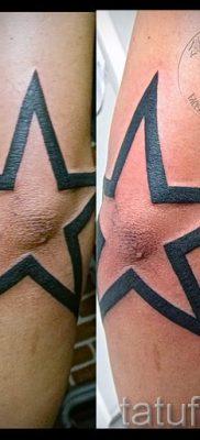 Фото тату звезды на локтях для статьи про значение рисунка татуировки – tatufoto.ru – 37