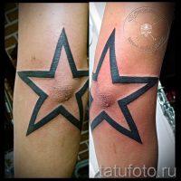 Значение тату звезды на локтях
