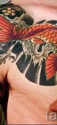 Фото тату золотая рыбка для статьи про значение рисунка татуировки – tatufoto.ru – 4