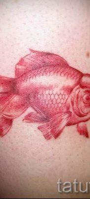 Фото тату золотая рыбка для статьи про значение рисунка татуировки – tatufoto.ru – 24