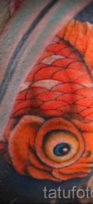 Фото тату золотая рыбка для статьи про значение рисунка татуировки – tatufoto.ru – 40