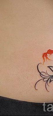 Фото тату золотая рыбка для статьи про значение рисунка татуировки – tatufoto.ru – 43