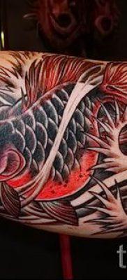 Фото тату золотая рыбка для статьи про значение рисунка татуировки – tatufoto.ru – 47