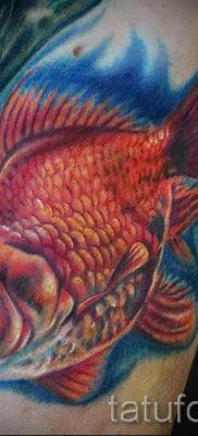 Фото тату золотая рыбка для статьи про значение рисунка татуировки – tatufoto.ru – 53