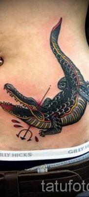 Фото тату крокодил для статьи про значение татуировки крокодил – tatufoto.ru – 3