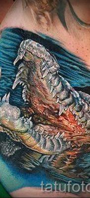 Фото тату крокодил для статьи про значение татуировки крокодил – tatufoto.ru – 4