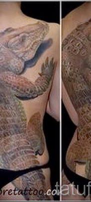 Фото тату крокодил для статьи про значение татуировки крокодил – tatufoto.ru – 7