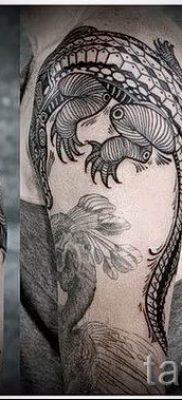 Фото тату крокодил для статьи про значение татуировки крокодил – tatufoto.ru – 9