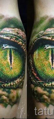 Фото тату крокодил для статьи про значение татуировки крокодил – tatufoto.ru – 13