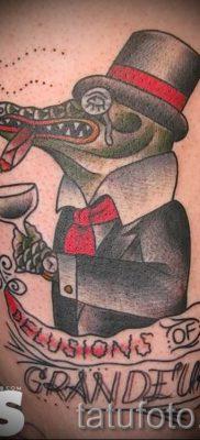 Фото тату крокодил для статьи про значение татуировки крокодил – tatufoto.ru – 15