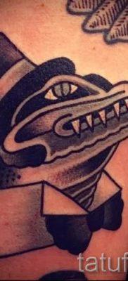 Фото тату крокодил для статьи про значение татуировки крокодил – tatufoto.ru – 16