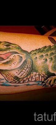 Фото тату крокодил для статьи про значение татуировки крокодил – tatufoto.ru – 18