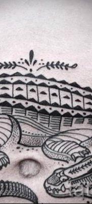 Фото тату крокодил для статьи про значение татуировки крокодил – tatufoto.ru – 21