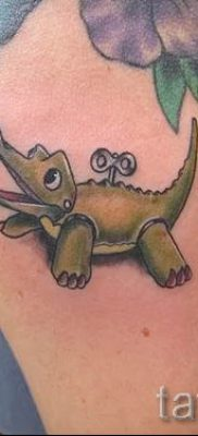 Фото тату крокодил для статьи про значение татуировки крокодил – tatufoto.ru – 22