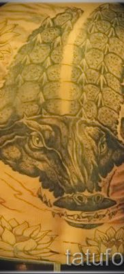 Фото тату крокодил для статьи про значение татуировки крокодил – tatufoto.ru – 25