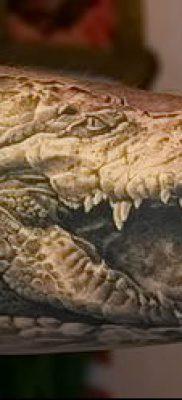 Фото тату крокодил для статьи про значение татуировки крокодил – tatufoto.ru – 32
