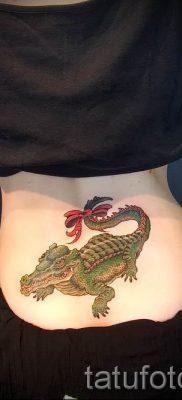 Фото тату крокодил для статьи про значение татуировки крокодил – tatufoto.ru – 33