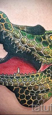 Фото тату крокодил для статьи про значение татуировки крокодил – tatufoto.ru – 49