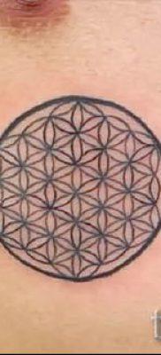 Фото тату круг для статьи про значение татуировки с кругом – tatufoto.ru – 4