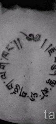 Фото тату круг для статьи про значение татуировки с кругом – tatufoto.ru – 13