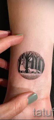 Фото тату круг для статьи про значение татуировки с кругом – tatufoto.ru – 18