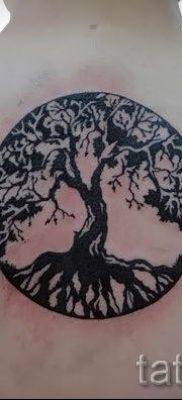 Фото тату круг для статьи про значение татуировки с кругом – tatufoto.ru – 22