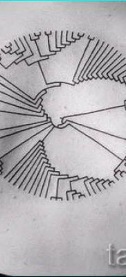 Фото тату круг для статьи про значение татуировки с кругом – tatufoto.ru – 24
