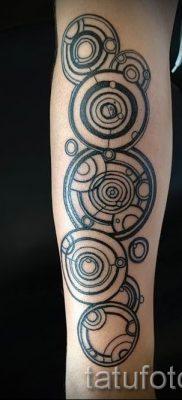 Фото тату круг для статьи про значение татуировки с кругом – tatufoto.ru – 30