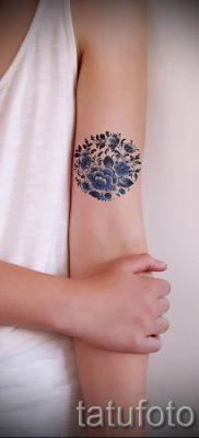 Фото тату круг для статьи про значение татуировки с кругом – tatufoto.ru – 34